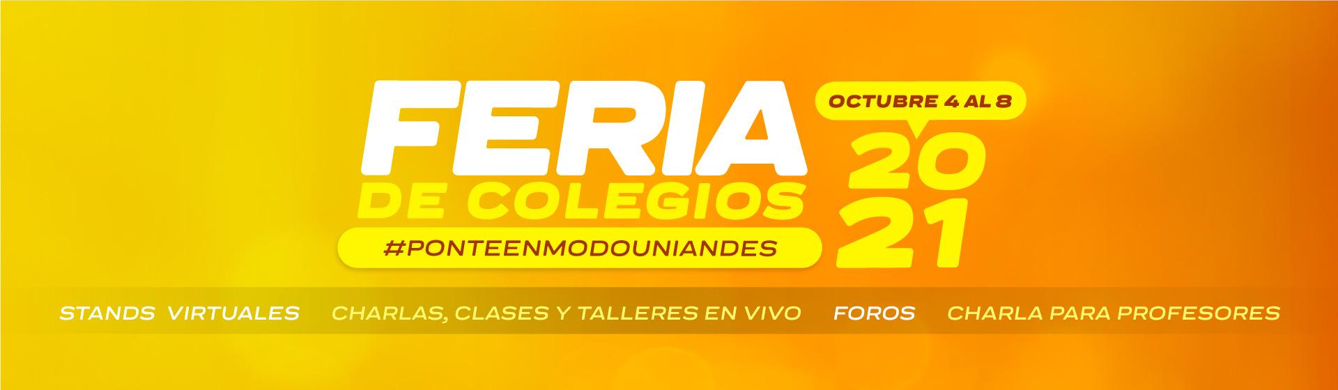 Feria de Colegios Uniandes