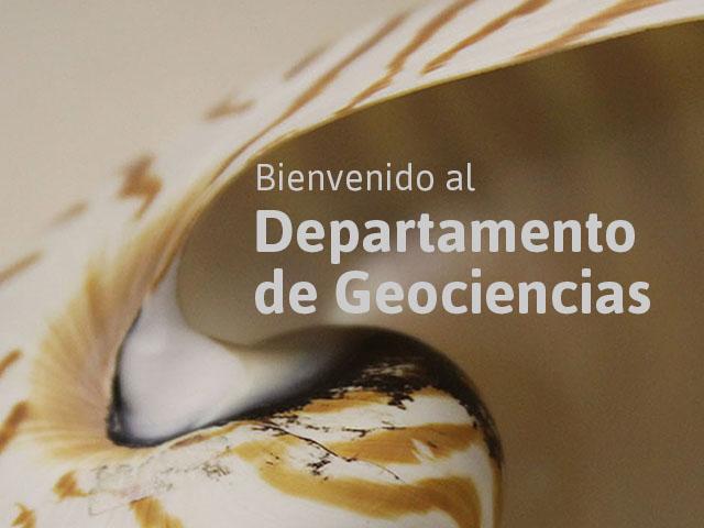 Departamento de Geociencias - Uniandes
