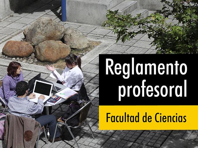 Reglamento profesoral Facultad de Ciencias
